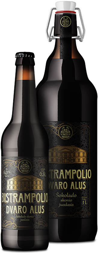 BISTRAMPOLIO DVARO черное шоколадное нефильтрованное пиво