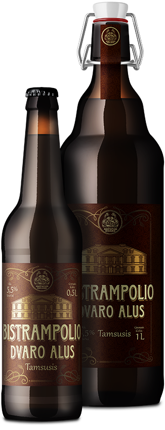 BISTRAMPOLIO DVARO  темное нефильстрованное пиво