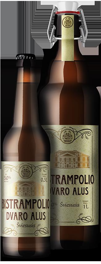 BISTRAMPOLIO DVARO  нефильтрованное светлое пиво
