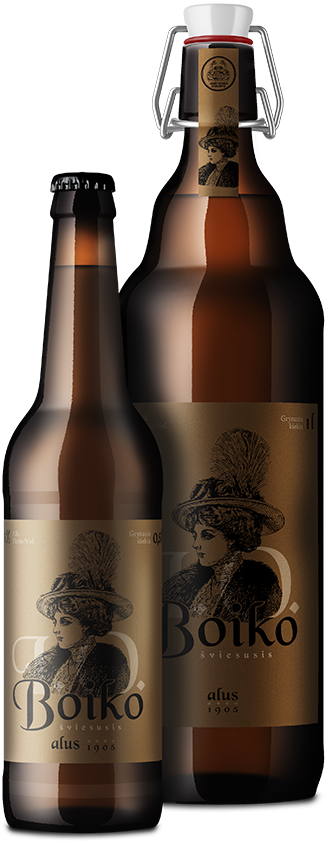 I. O. BOIKO  светлое нефильтрованное пиво