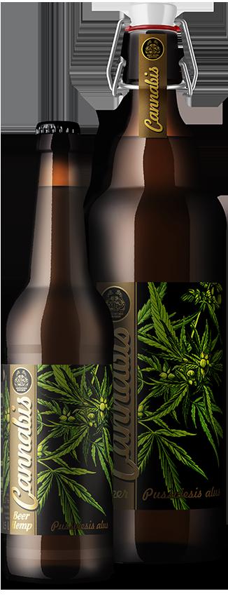 CANNABIS полутемное нефильстрованное пиво