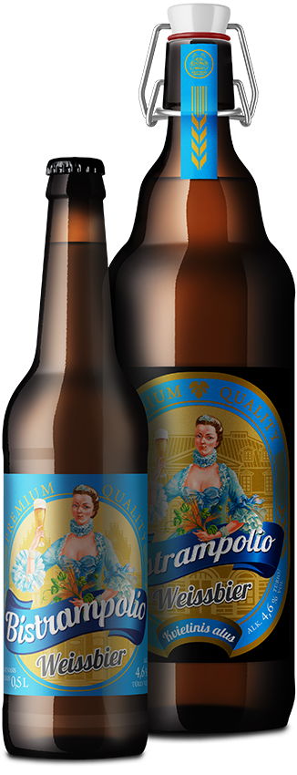 BISTRAMPOLIO нефильтрованное Weissbier пиво