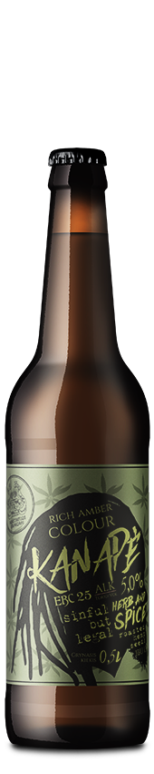 Kanapė nefiltruotas pusšviesis alus