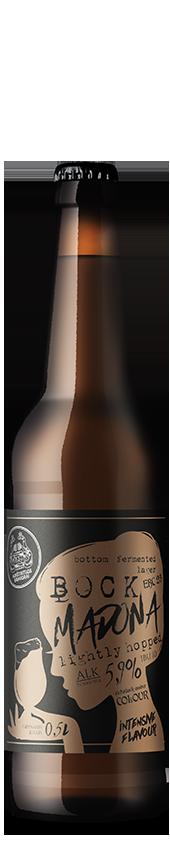 MADONA nefiltruotas pusšviesis alus